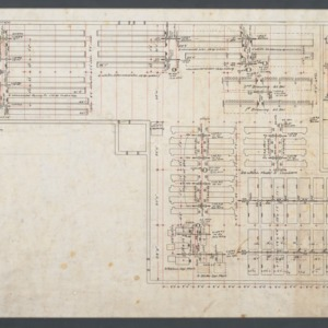 1st Floor Machinery and Shafting Plan