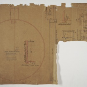Reservoir plan and pump sections