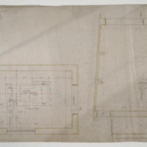 Pump room floor plan