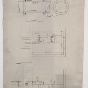 Pump room foundation plan