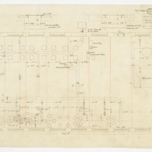 Reclaiming and boiler room floor plan