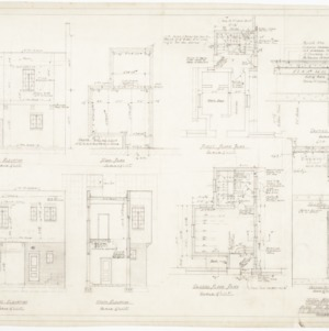 Elevations, Plans, and Sections